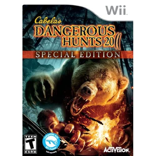 Image 0 of Cabela's Dangerous Hunts 2011 Special Edition For Wii Shooter