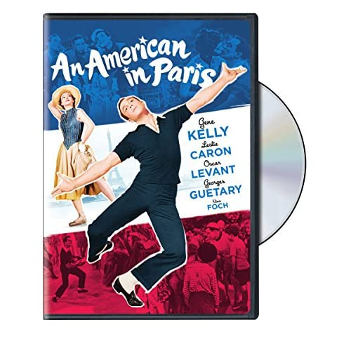 Image 0 of An American In Paris On DVD With Gene Kelly Drama