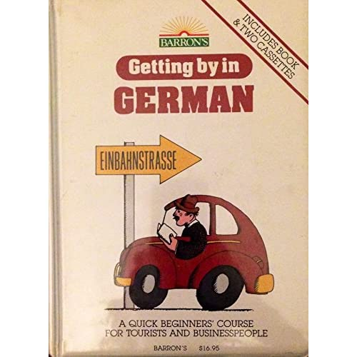 Image 0 of Getting By In German/book And 2-CASSETTES By Edith Baer On Audio Cassette