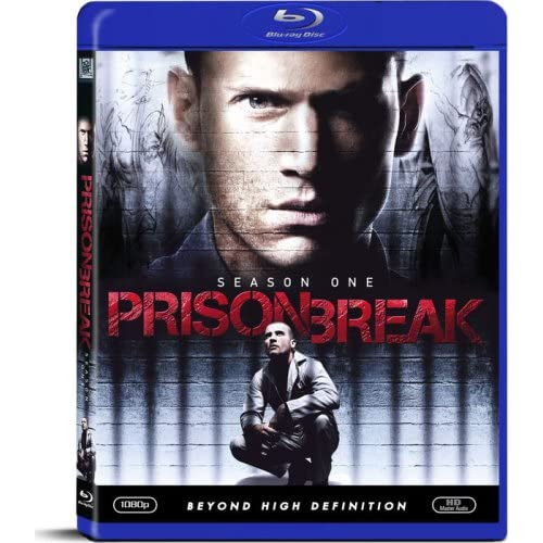 Image 0 of Prison Break Season 1 Blu-Ray On Blu-Ray With Dominic Purcell