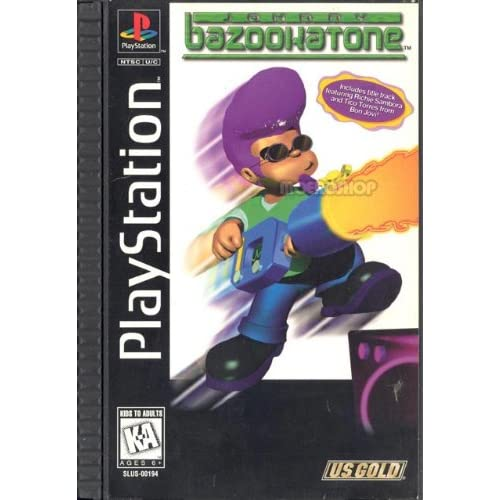 Image 0 of Johnny Bazookatone For PlayStation 1 PS1