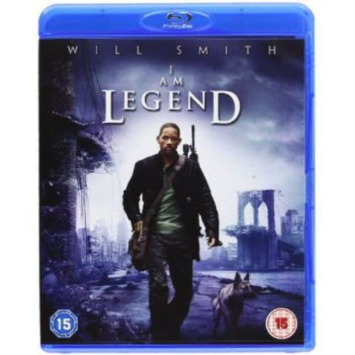 Image 0 of I AM Legend Blu-Ray On Blu-Ray With Alice Braga