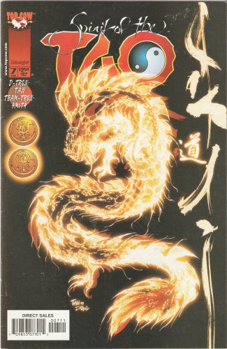 Spirit Of The Tao #7 Vol 1 February 1999 Comic Book