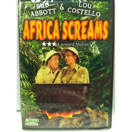 Image 0 of Africa Screams On DVD Comedy
