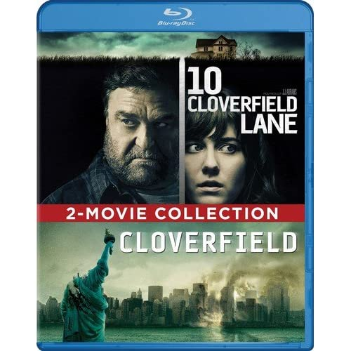 10 Cloverfield Lane / Cloverfield 2-MOVIE Collection Blu-Ray On Blu-Ray With Mik