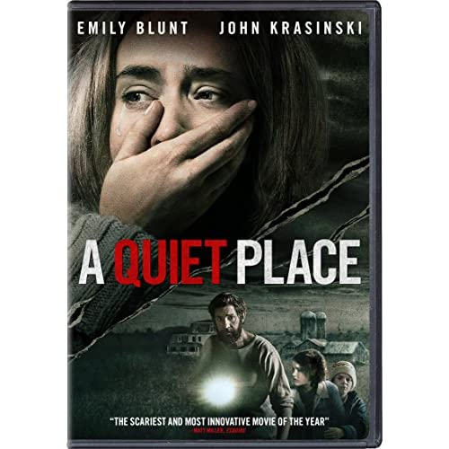 Image 0 of A Quiet Place On Blu-Ray With John Krasinski Horror