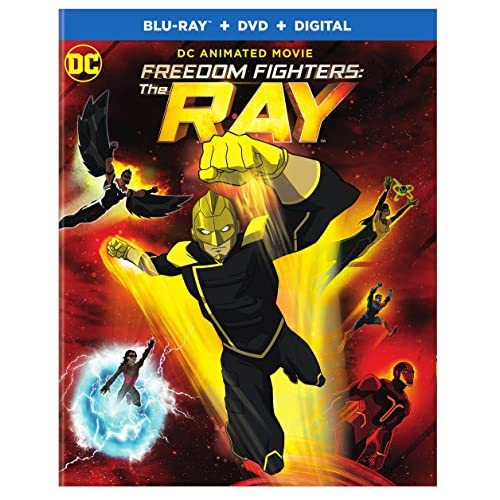 Image 0 of Freedom Fighters The Ray Mfv Bd Blu-Ray On Blu-Ray With Russell Tovey Anime
