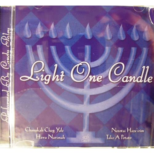 Image 0 of Hanukkah Light One Candle By Cindy Paley Composer On Audio CD Album