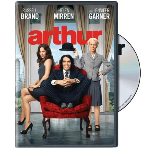 Image 0 of Arthur On DVD With Russell Brand Comedy