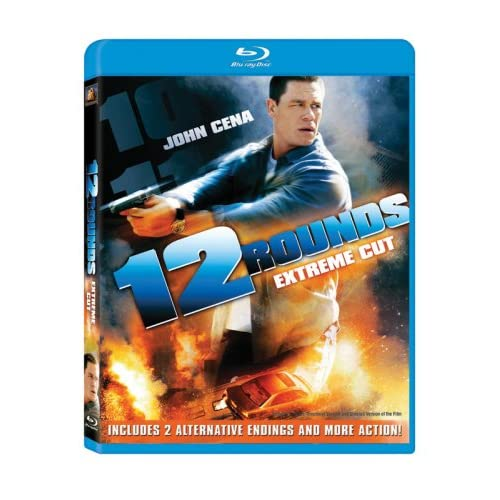 Image 0 of 12 Rounds Extreme Cut Blu-Ray On Blu-Ray With John Cena