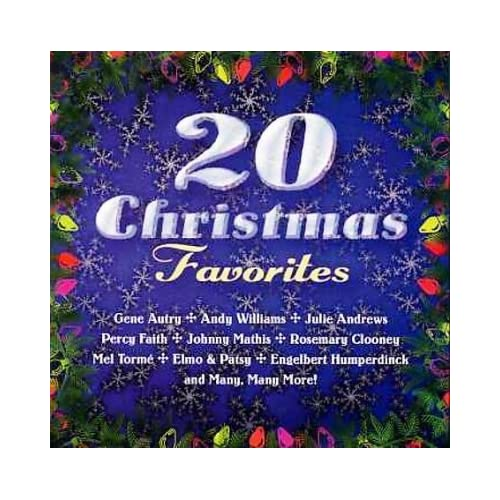 20 Christmas Favorites By Various On Audio CD Album 1996