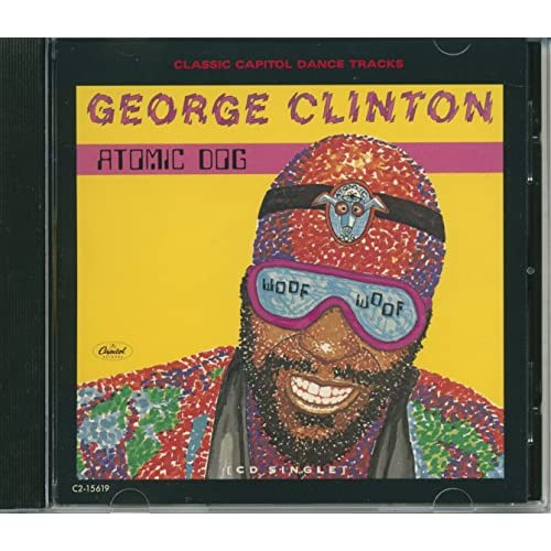 Image 0 of Atomic Dog By George Clinton On Audio CD Album 1990