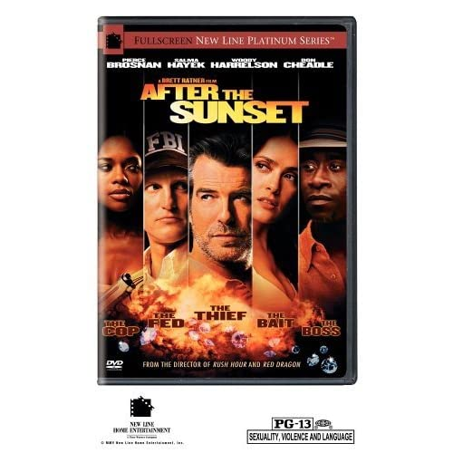 Image 0 of After The Sunset Full Screen Edition On DVD With Pierce Brosnan Comedy