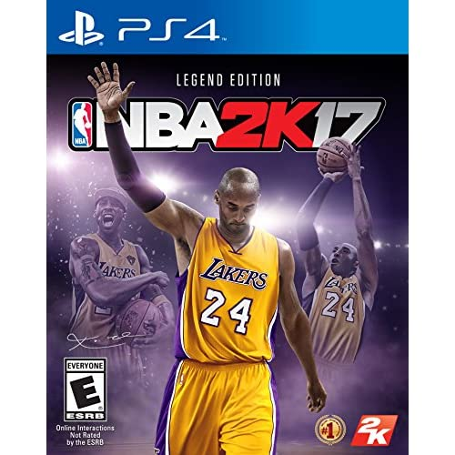NBA 2K17 Legend Edition For PlayStation 4 PS4 Basketball