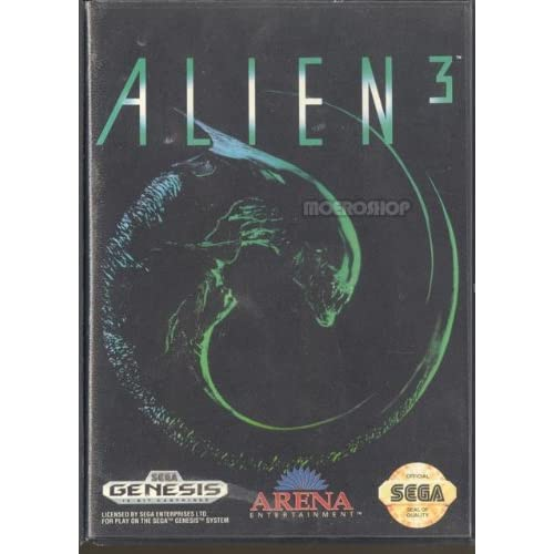 Alien 3 For Sega Genesis Vintage