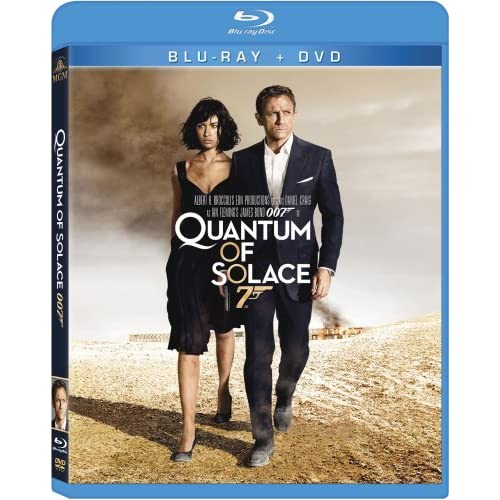Image 0 of Quantum Of Solace On Blu-Ray With Daniel Craig