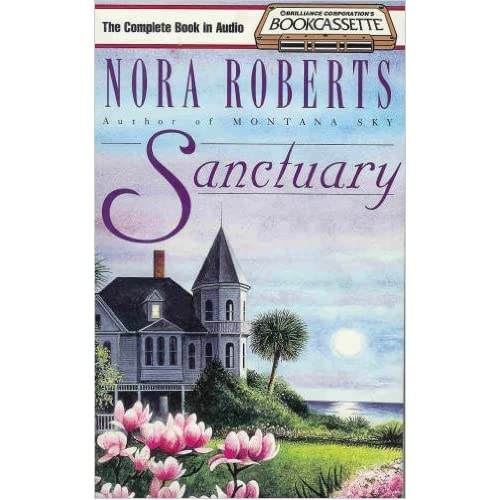 Image 0 of Sanctuary By Roberts Nora Burr Sandra Reader On Audio Cassette