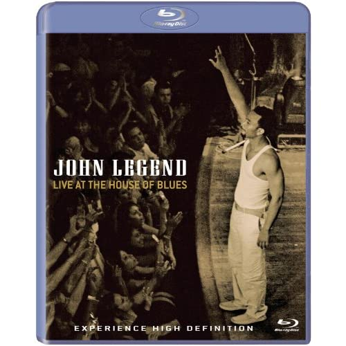 John Legend Live At The House Of Blues Blu-Ray On Blu-Ray