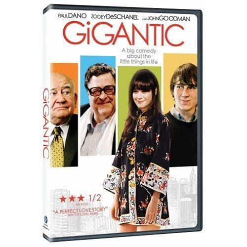 Image 0 of Gigantic On DVD with Zooey Deschanel Comedy