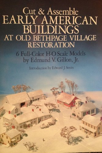 Cut and Assemble Early American Buildings at Old Bethpage Village Restoration