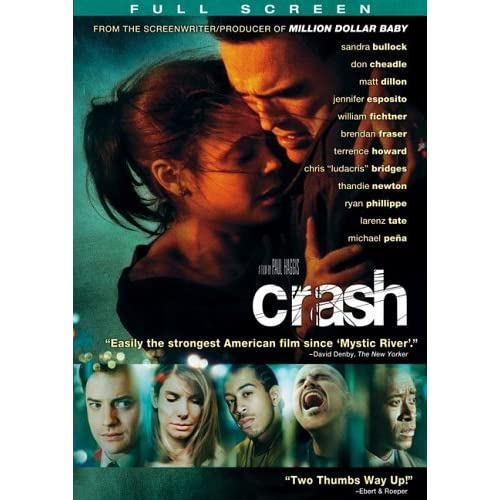 Image 0 of Crash Full Screen Edition On DVD With Don Cheadle Drama