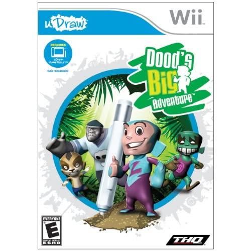 Image 0 of uDraw: Dood's Big Adventure For Wii And Wii U