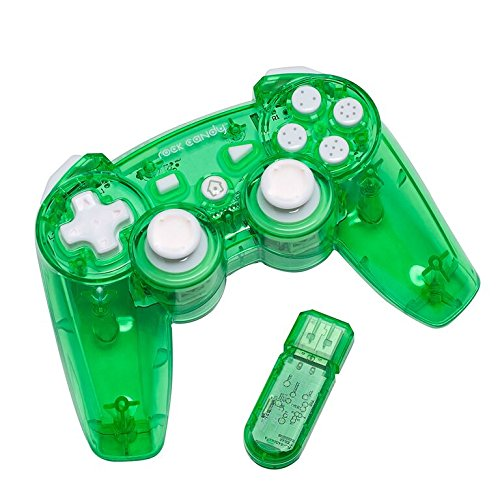 Image 0 of PDP Rock Candy Wireless Controller Green For PlayStation 3 PS3 Gamepad LWE586