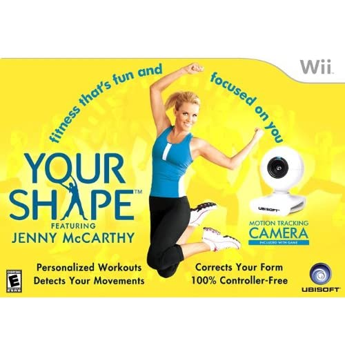 Your Shape For Wii Camera Not Included