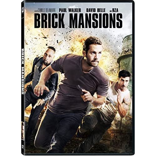 Image 0 of Brick Mansions On DVD With Frank Fontaine