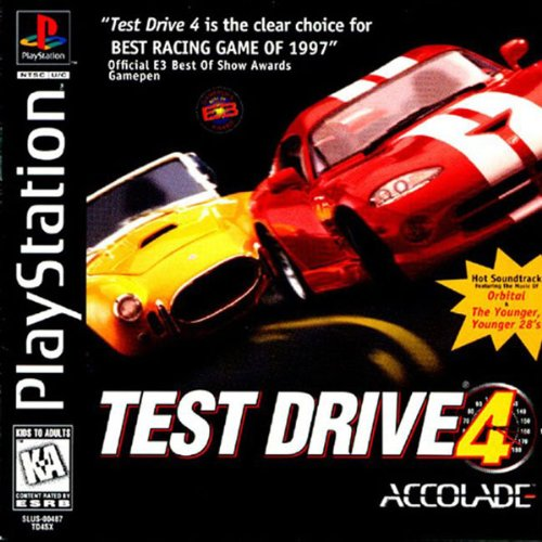 Image 0 of Test Drive 4 For PlayStation 1 PS1 Racing