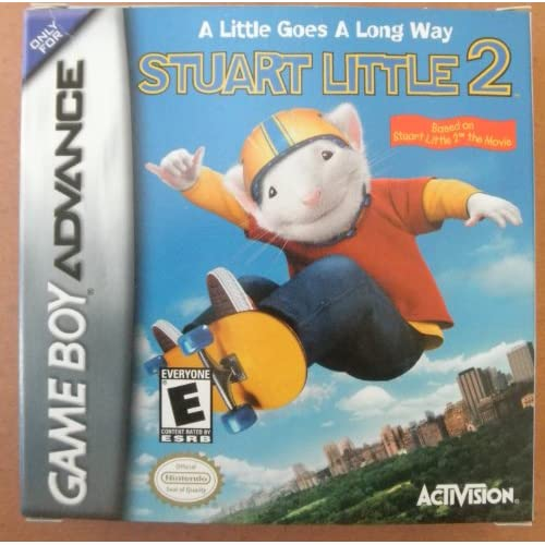 Image 0 of Stuart Little 2 Nintendo Game Boy Advance Rated E For GBA Gameboy Advance