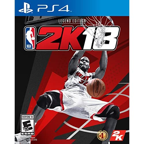 Image 0 of NBA 2K18 Legend Edition For PlayStation 4 PS4 Basketball
