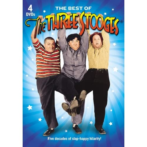 Image 0 of Best Of The Three Stooges The 1970 4-disc / On DVD With Moe Howard 3 Anime