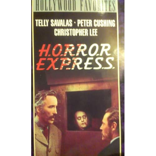 Horror Express On VHS With Christopher Lee