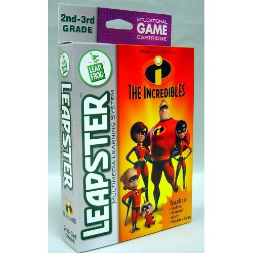 Image 0 of Leapster: The Incredibles For Leap Frog