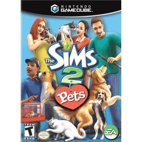 Image 0 of Sims 2 Pets For GameCube With Manual And Case