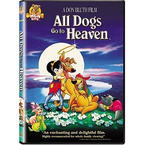 Image 0 of All Dogs Go To Heaven On DVD With Dom Deluise Children