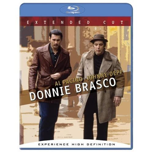 Donnie Brasco Extended Cut Blu-Ray On Blu-Ray With Anne Heche