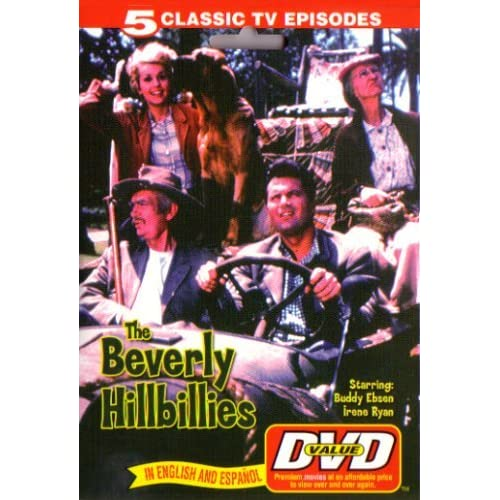 Image 0 of Beverly Hillbillies 5 Classic TV Episodes First 5 Shows On DVD Comedy