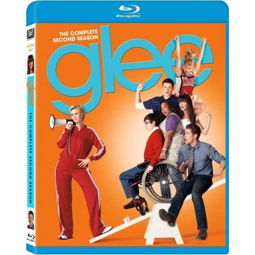 Glee: Season 2 Blu-Ray On Blu-Ray With Cory Monteith