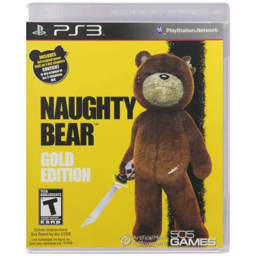 Image 0 of Naughty Bear Gold Edition For PlayStation 3 PS3