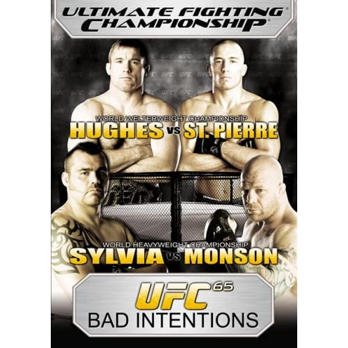 Image 0 of Ultimate Fighting Championship Vol 65: Bad Intentions On DVD