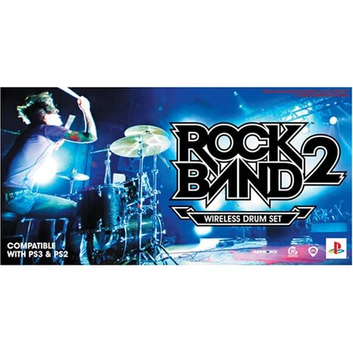 Rock Band 2 Standalone Drums PlayStation 2/PLAYSTATION 3 For PlayStation 3 PS3 M