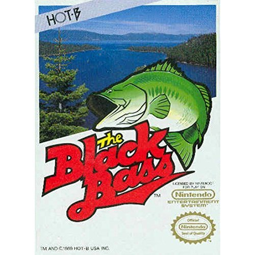 Image 0 of The Black Bass For Nintendo NES Vintage Shooter