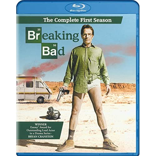 Breaking Bad: Season 1 Blu-Ray On Blu-Ray With Rj Mitte