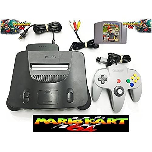 Image 0 of Nintendo 64 Bundle With Mario Kart 64 Four Controllers