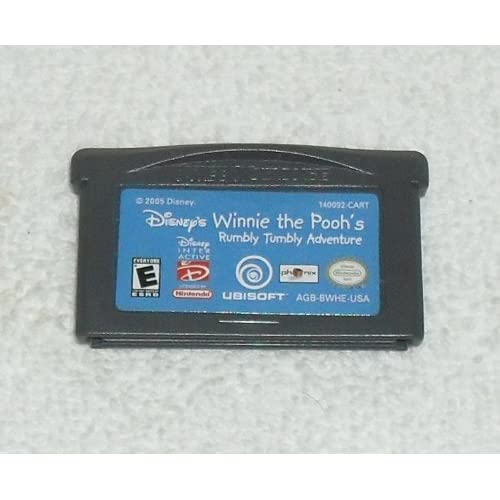 Image 0 of Disney's Winnie The Pooh's Rumbly Tumbly Adventure For GBA Gameboy Advance