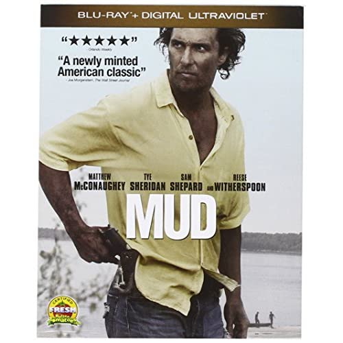 Image 0 of Mud Blu-Ray Digital On Blu-Ray With Matthew Mcconaughey Drama