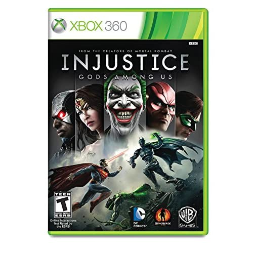 Fighting Games For Xbox 360 : Injustice gods among us for xbox fighting with manual