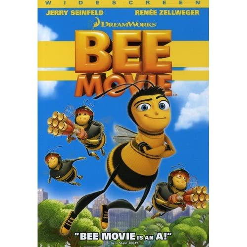 Image 0 of Bee Movie Widescreen Edition On DVD With Jerry Seinfeld Children